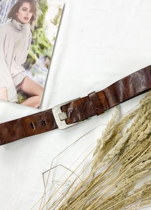 Кожаный пояс ac1944031  crafted