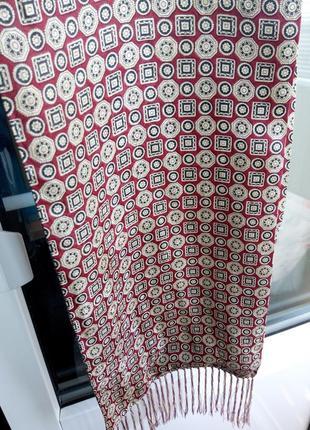 Шарф платок шёлк шовковий мужской