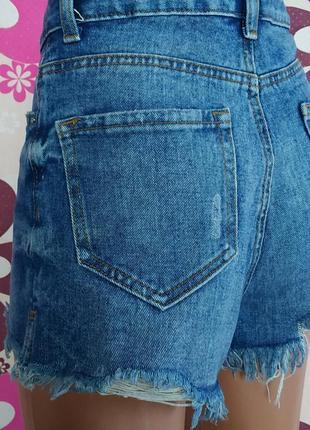Крутезные джинсовые шорты мом винтаж высокая посадка denim co 🔥