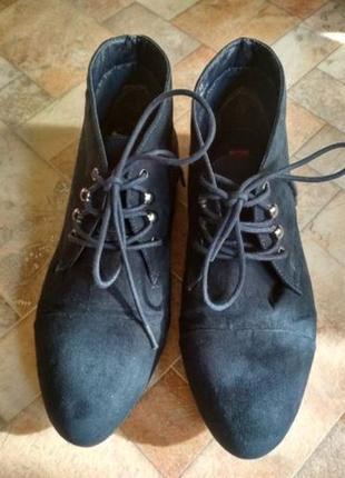 Ботинки осенние синие р. 38 новые
