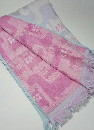 Махровий рушник, махровое полотенце, дитячий рушник
