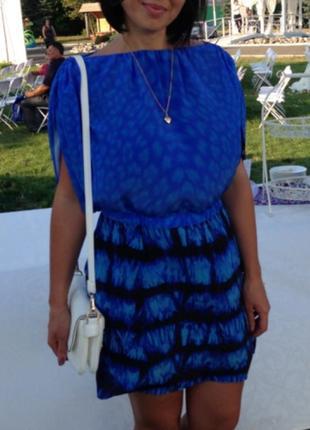 Шелковое платье roberto cavalli 46 p оригинал
