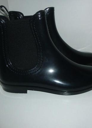 Сапоги ботинки резиновые женские