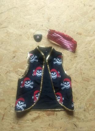 Карнавальный костюм пират 2-5 лет