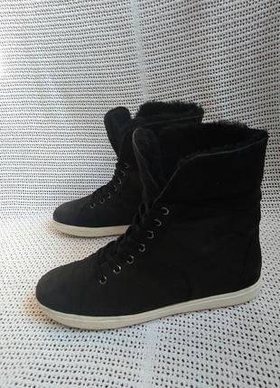 Caprice кожаные оригинальные ботинки 39, 5