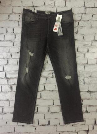 Крутые джинсы мужские штаны casual деним