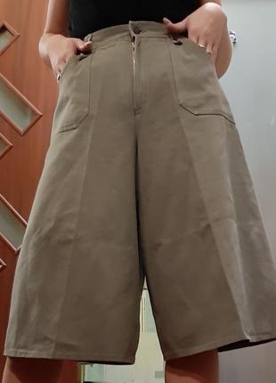 Идеальные джинсовые кюлоты