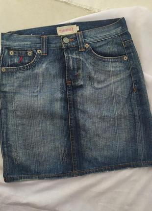 Джинсовая юбка terranova