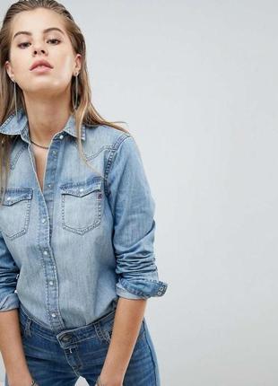 Джинсовая рубашка, блузка, блуза, сорочка