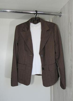 №39 пиджак жакет в рубчик от laura scott