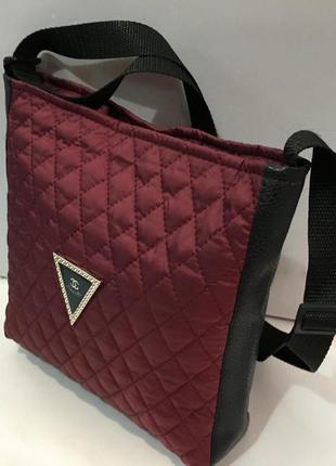 Стильная стеганая сумка. цвета! акция