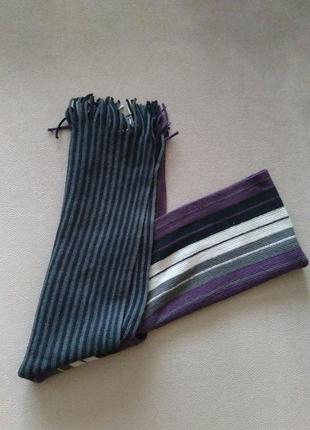Шарф унисекс c&a acrylic scarf акрил в шикарной практичной расцветке