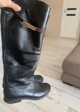 Сапоги кожаные еврозима