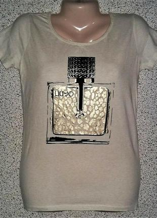 Модная стильная футболка от бренда liu jo sport оригинал