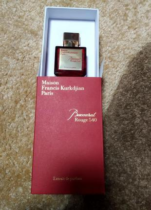 Baccarat rouge 540 extract maison francis kurkdjian