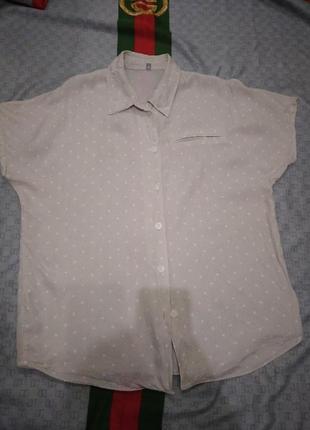 Легкая невесомая рубашка реглан