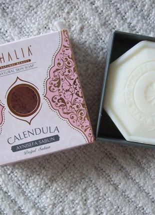 Натуральное мыло с экстрактом календулы thalia, 125 г