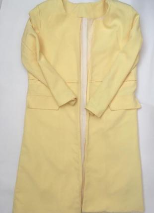 Удлиннённый пиджак