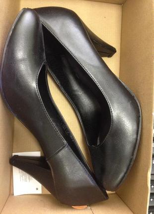Кожаные туфли осень - весна