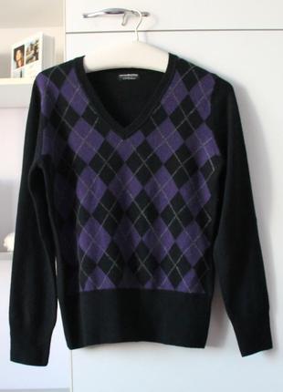 Кашемировый свитер от new collection, 100% кашемир