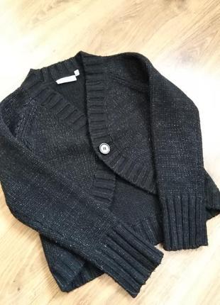 Кофта-болеро светр вязаний в школу