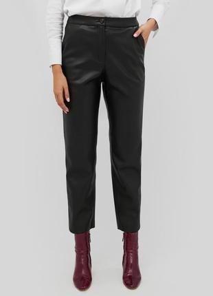 Кожаные брюки от украинского бренда осень-зима