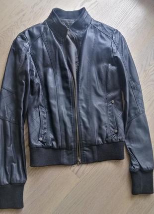 Куртка из качественного кожзама