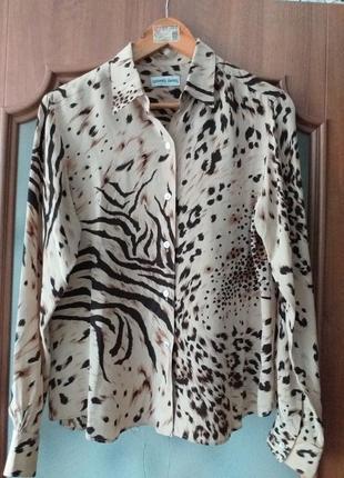 Gerard darel  шелковая блуза m-l