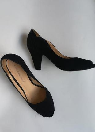 Замшевые туфли carlo pazolini 37 размер