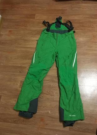 Не реально крутые горнолыжные штаны от columbia omni tech