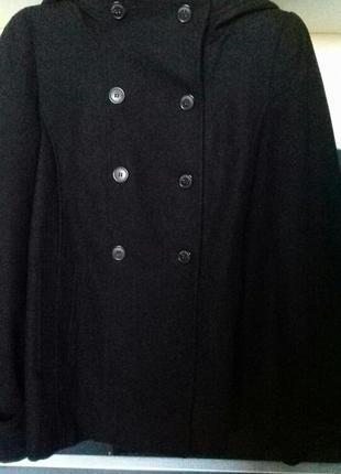 Пальто, полупальто с капюшоном zara