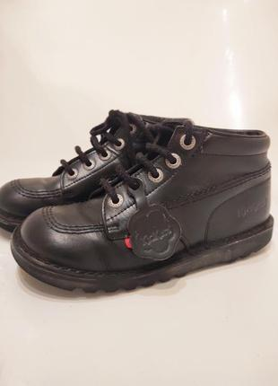 Ботинки чернвики kickers