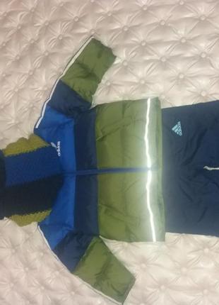 Зимние куртка и штанишки для мальчика