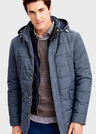 Куртка с двойным подбортом ostin