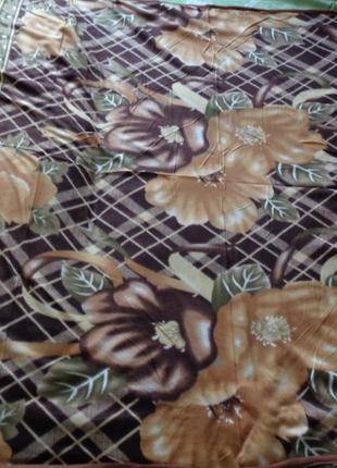 Флисовые пледы/покрывало/простынь 150*200 несколько расцветок