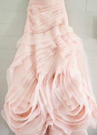 Свадебное платье от vera wang3 фото