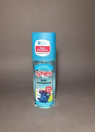 Sy neo free antitranspirant