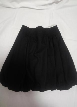 Брендовая шерстяная юбка blumarine