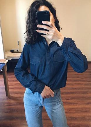 Стильная хлопковая рубашка от john baner.