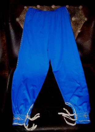Брюки штаны для танцев или маскарада