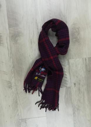 Дорогой и качественный шарф от valentino, из чистой овечьей шерсти