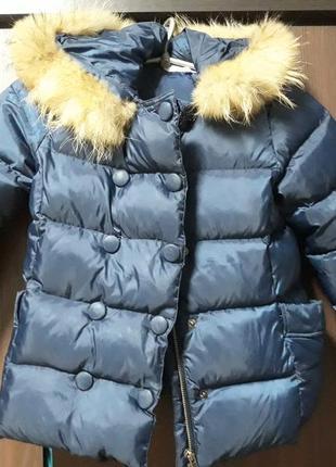 Зимова пухова курточка французької фірми lili gaufrette
