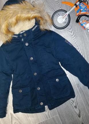 Куртка парка на холодную осень