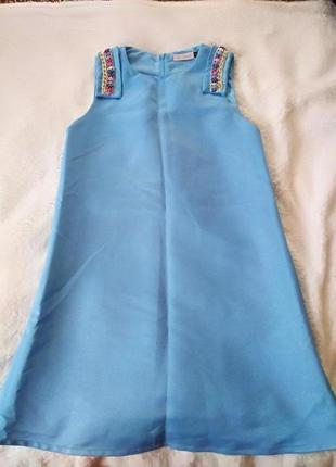 Голубое платье от lamania