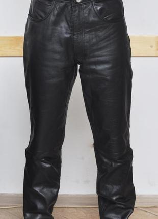 Кожаные брюки. мото-штаны.