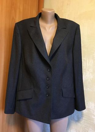 Роскошный шерстяной жакет,пиджак basler ,100%шерсть!!