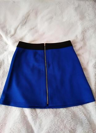 Синяя юбка от lost ink