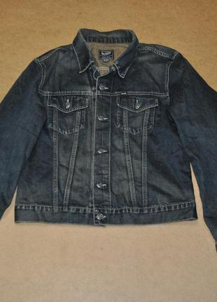 Gas фирменная джинсовка джинсовая куртка xl