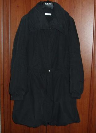 Пальто хлопковое утеплённое promod (франция)