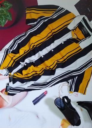 Рубашка primark, 100% вискоза, размер 2xl